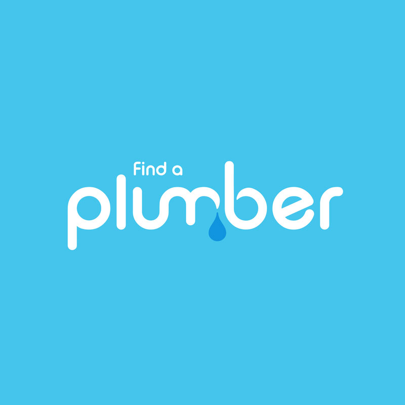 Find-a-plumber branding