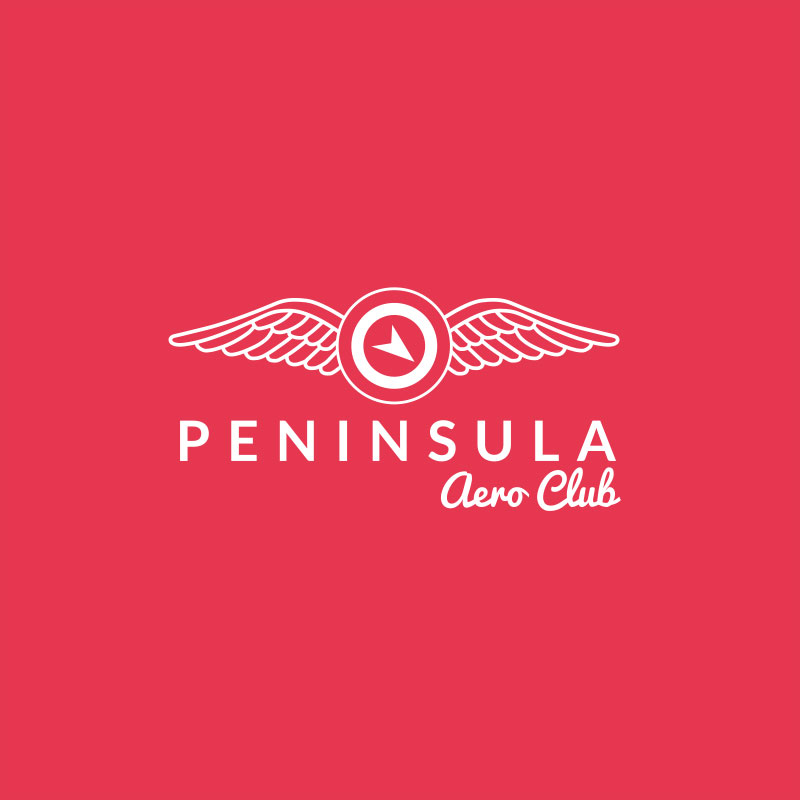 Peninsula Aero Club branding and website